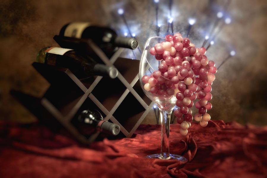 Wine Photograph - Connoisseur I by Tom Mc Nemar
