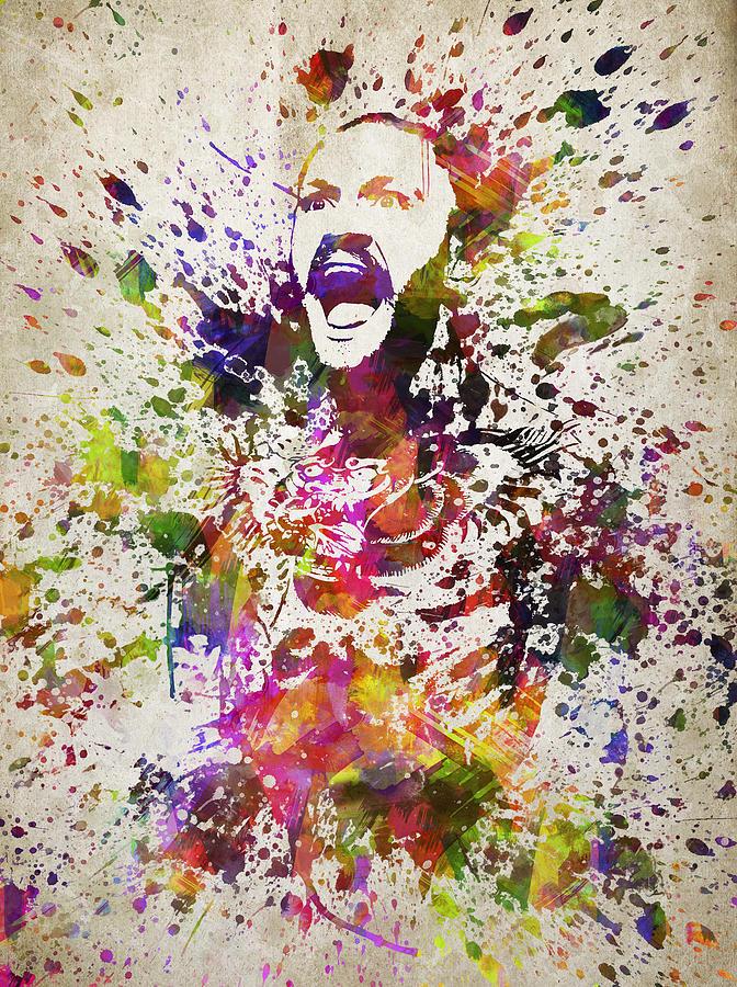 Conor Mcgregor In Color Digital Art