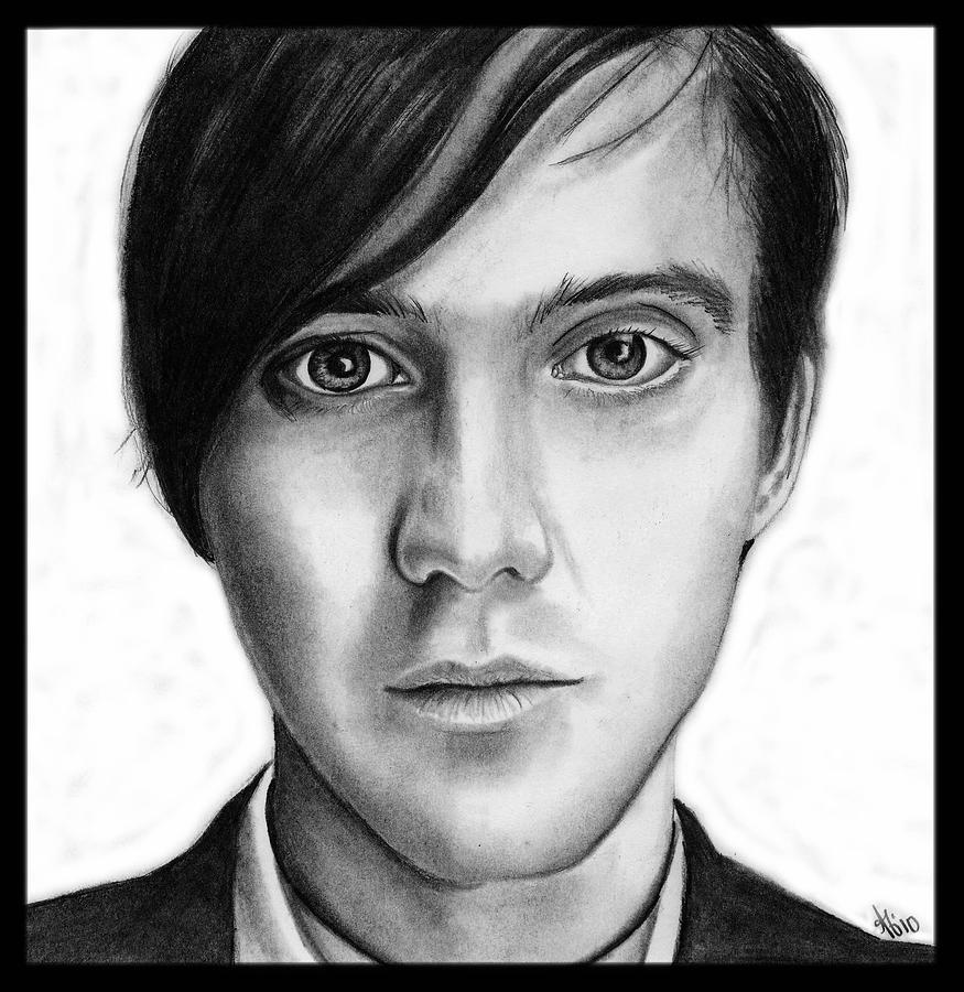 Conor Oberst Drawing - Conor Oberst by Alycia Ryan