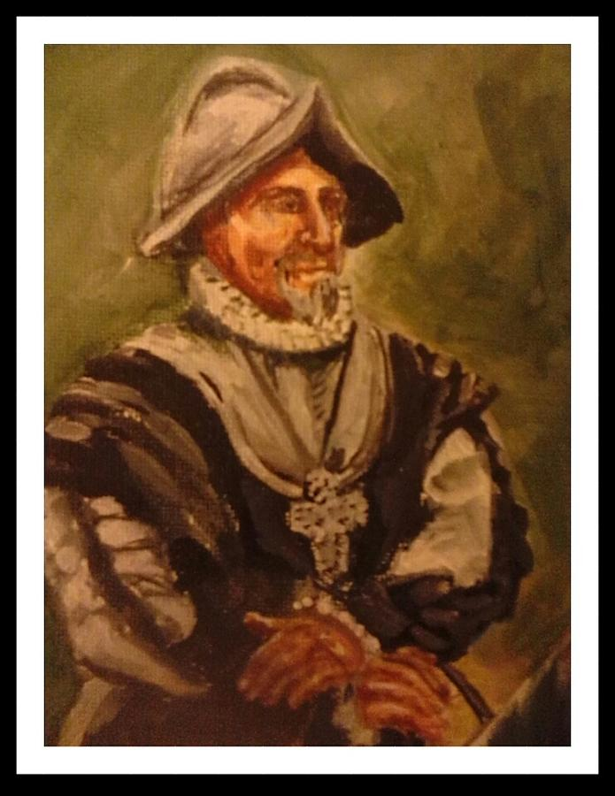 Conquistador Painting by Patricia Ducher