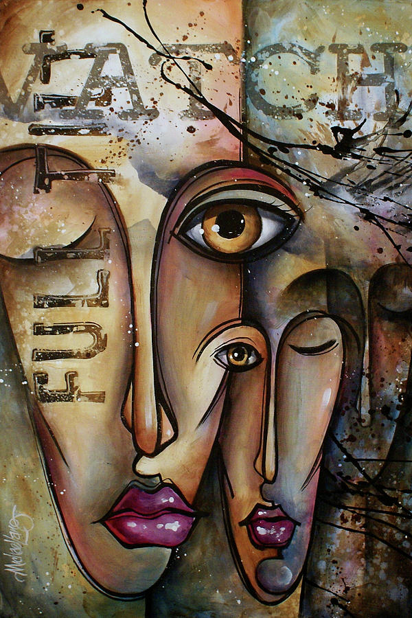 Conscience Painting By Michael Lang