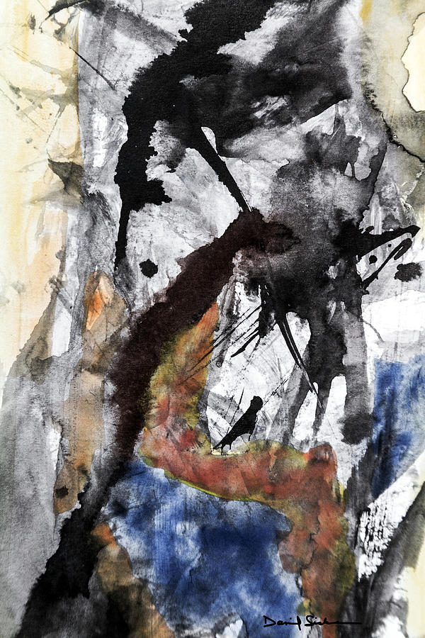 Abstract Painting - Consider The Void by Dan Sisken