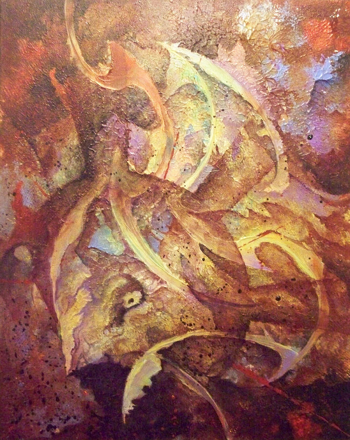 Abstract Paintings Painting - Consilium Dolosus by Fred Wellner