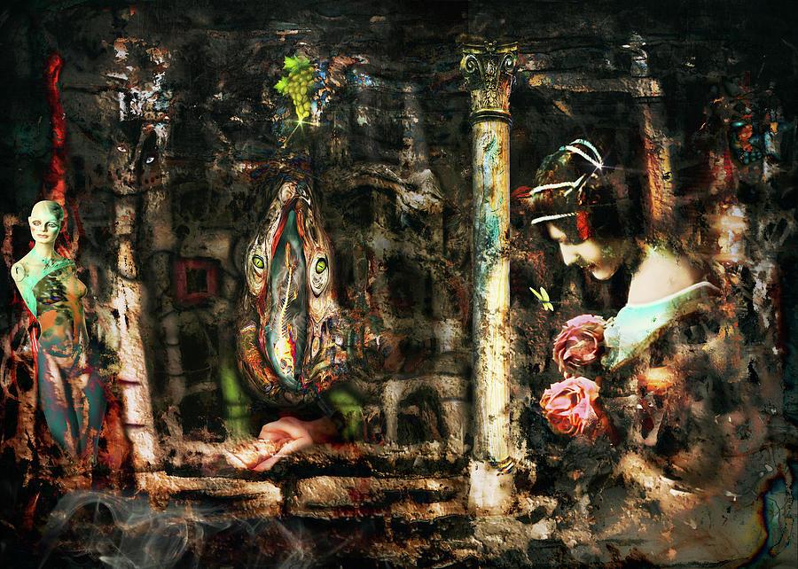 Bruce Digital Art - Conspiracy Of Silence by Bruce Neeley