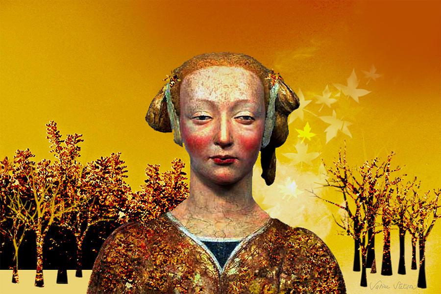 Portrait Digital Art - Constance  by Sabine Stetson