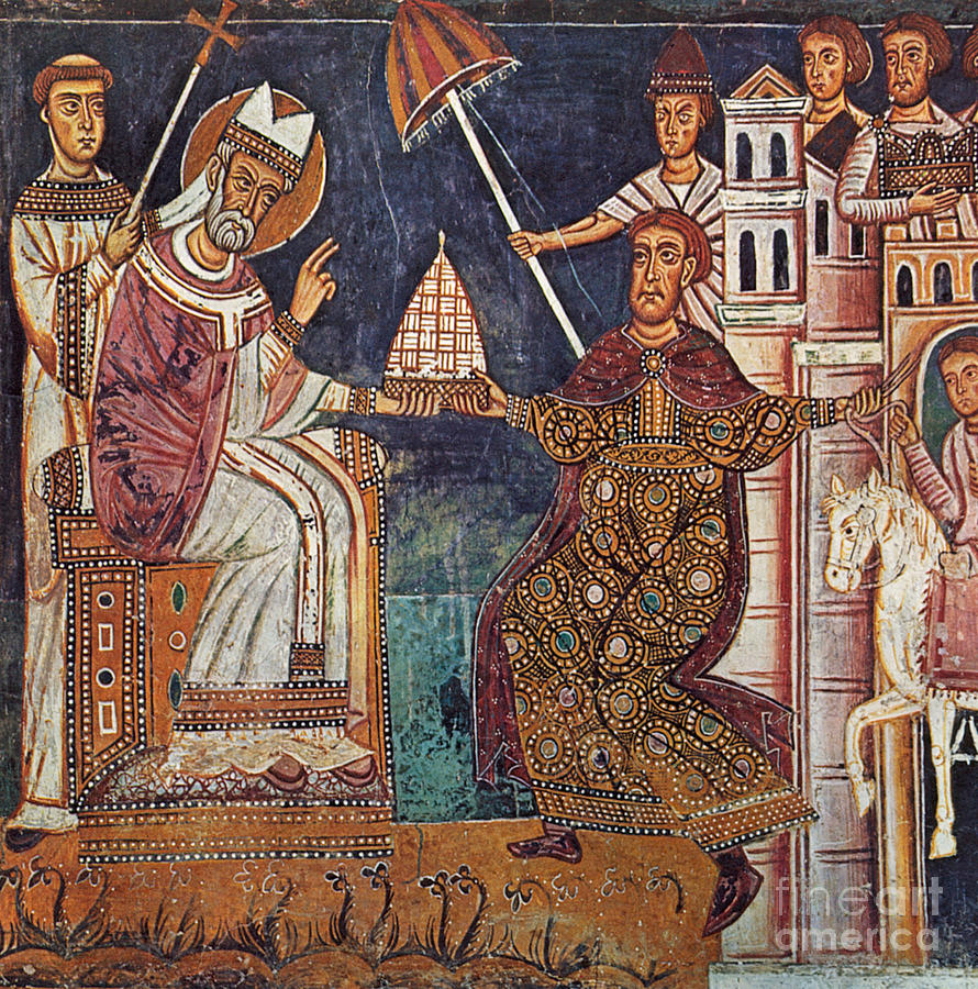13th Century Painting - Constantine I (c280-337) by Granger