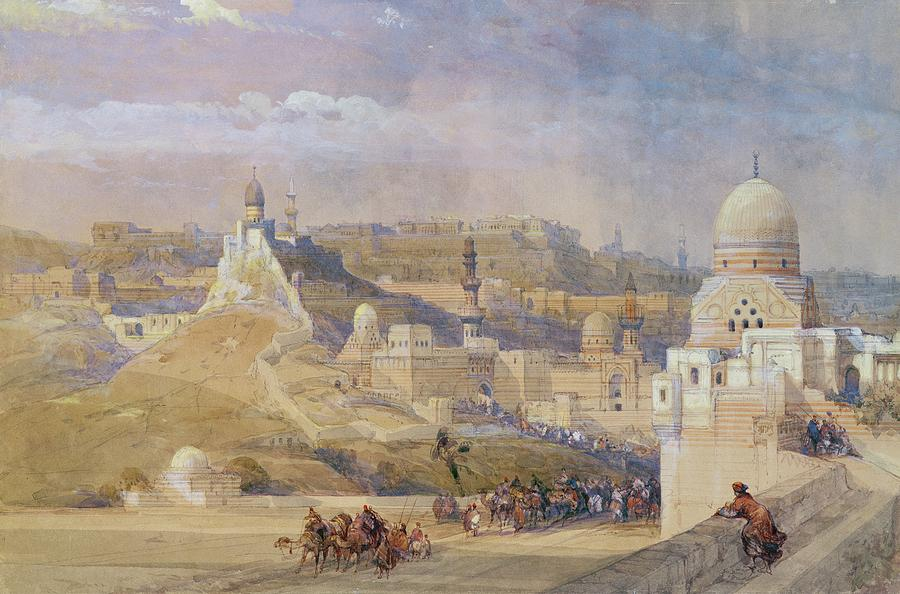 Constantinople Painting - Constantinople by David Roberts