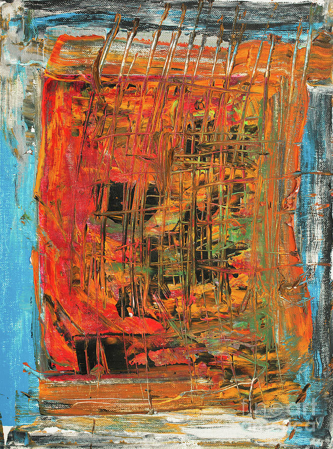 Construction Painting - Construction by Bjorn Sjogren