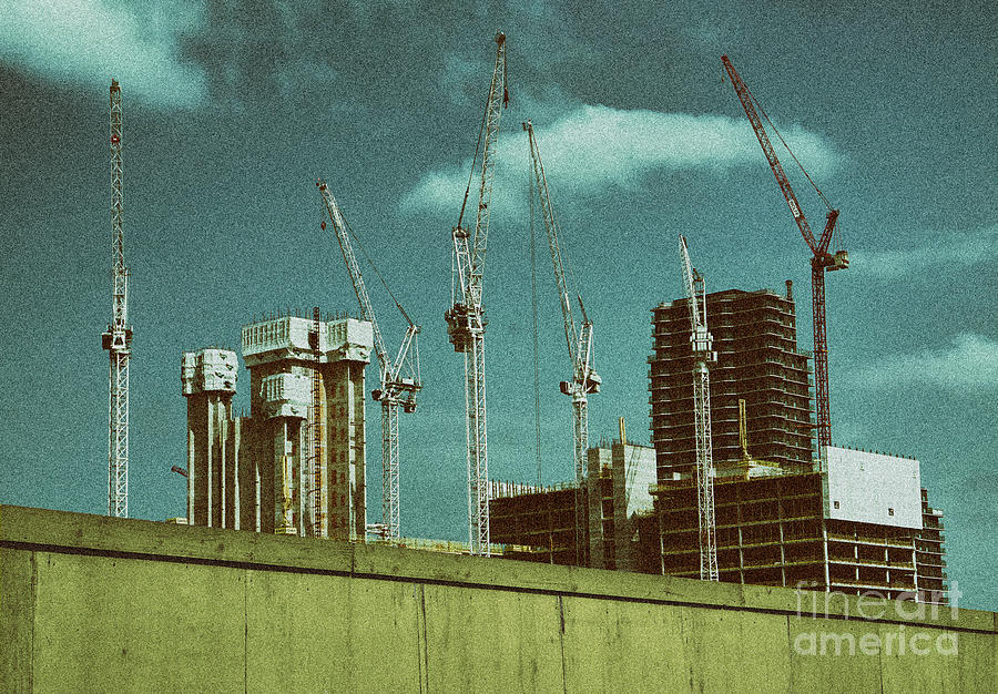 Construction Works in Stratford by Jasna Buncic