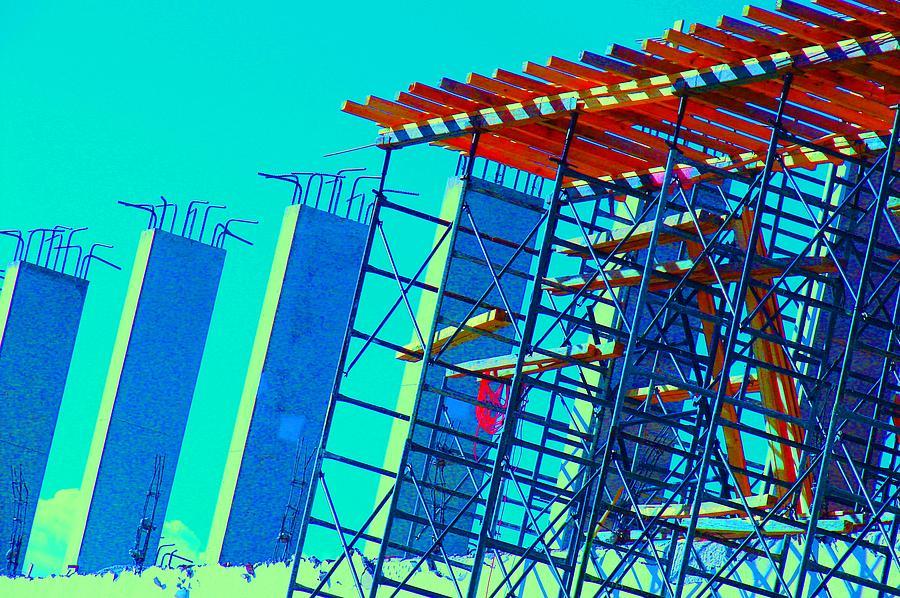 C0 Photograph - Construction by X Scherenberg