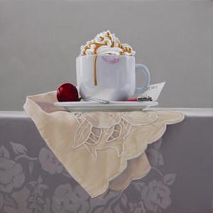 Still Life Painting - Contact by Marcel Franquelin