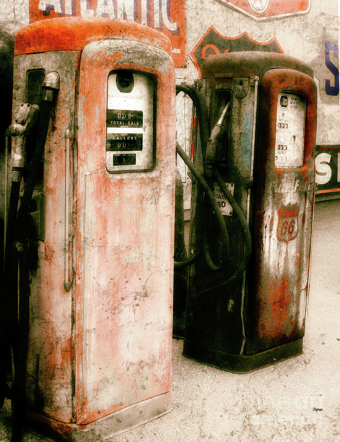 Gas Stations Photograph - Contains Lead  by Steven Digman