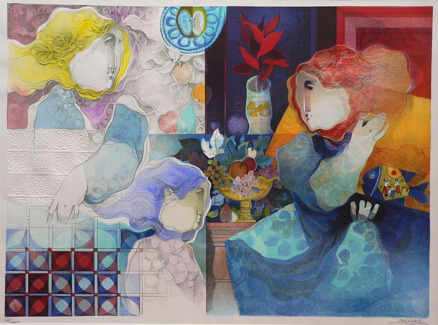 Contemplacion De Un Pasado Painting by Alvar