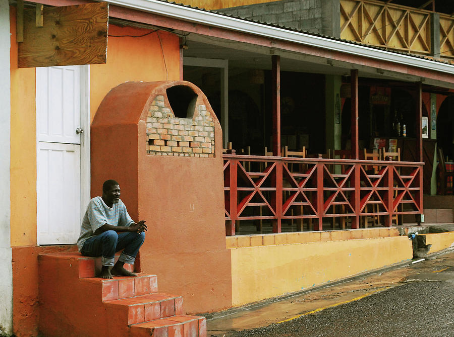 St. Lucia Photograph - Contemplating Life by Gary Wonning