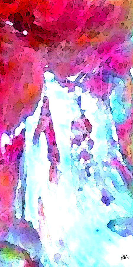 Abstract Digital Art - Contemplation Arrival by Linda Mears