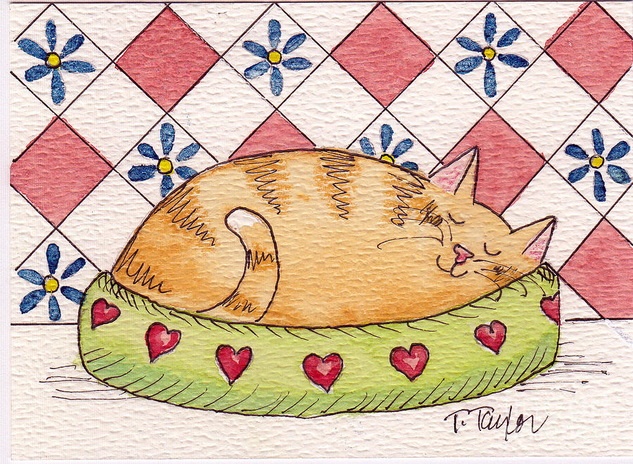 Contented Kitty by Terry Taylor