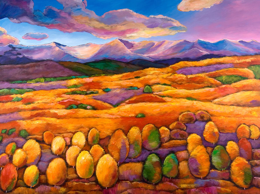 Southwest Landscapes Painting - Contentment by Johnathan Harris