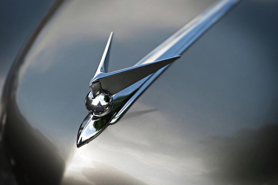 Hood Ornament Photograph - Continental by Bud Simpson
