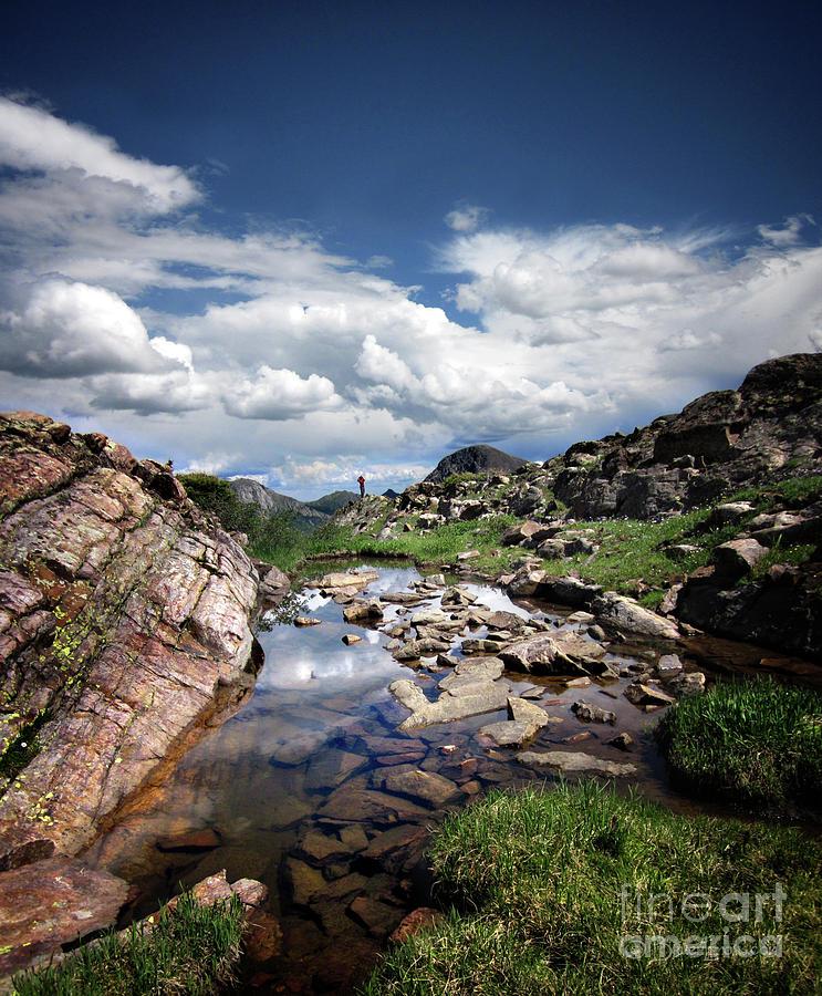 Weminuche Wilderness Photograph - Continental Divide Above Twin Lakes 3 - Weminuche Wilderness by Bruce Lemons