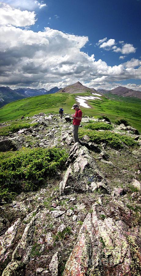Weminuche Wilderness Photograph - Continental Divide Above Twin Lakes 7 - Weminuche Wilderness by Bruce Lemons