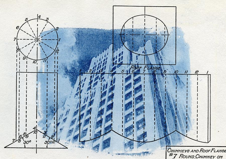 Continental life building cyanotype blueprint architecture cyanotype photograph continental life building cyanotype blueprint architecture by jane linders malvernweather Images