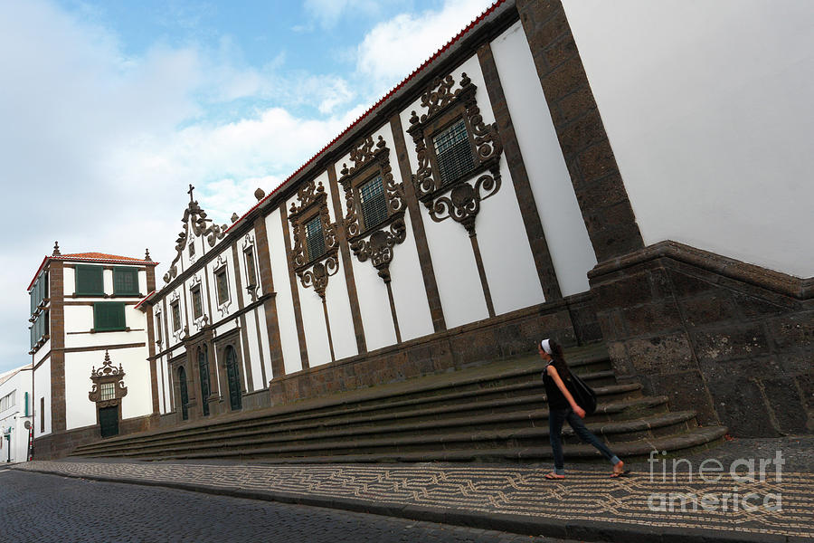 Ponta Delgada Photograph - Convent In Azores Islands by Gaspar Avila