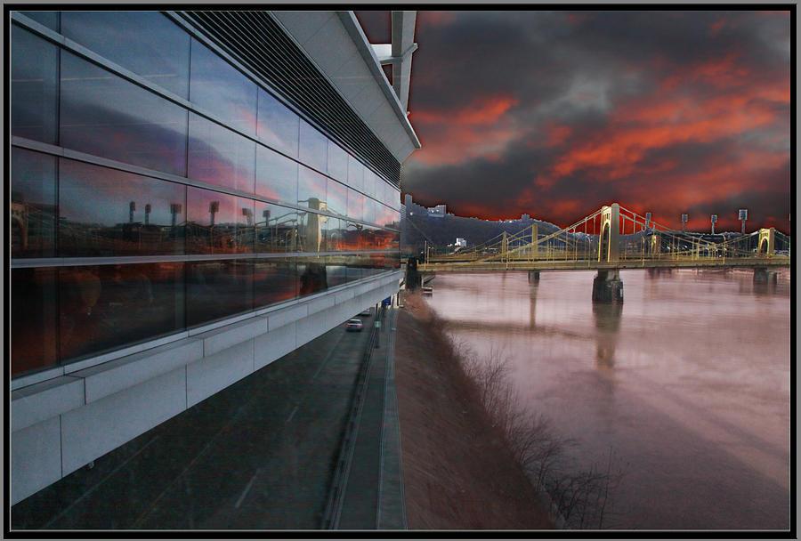 Pittsburgh Photograph - Convention Center by Bill Schmitt