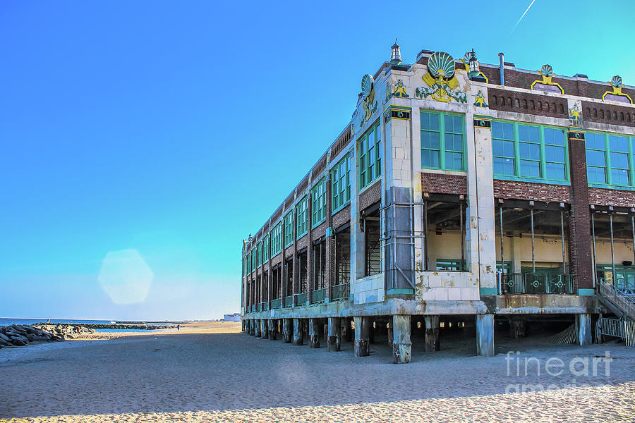Convention Hall Beachside - Asbury Park by Colleen Kammerer