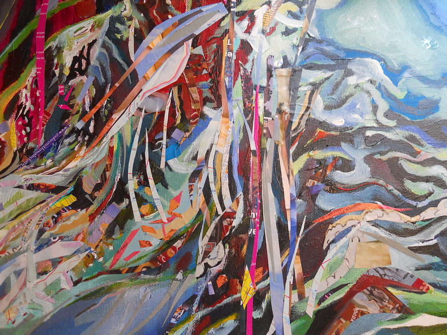 Abstract Painting - Convergance Of A Moment by CD Good