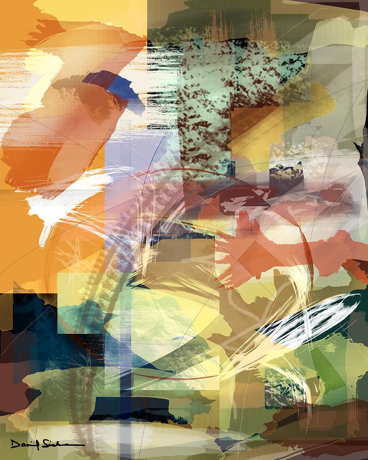 Abstract Digital Art - Convergence And Memory by Dan Sisken