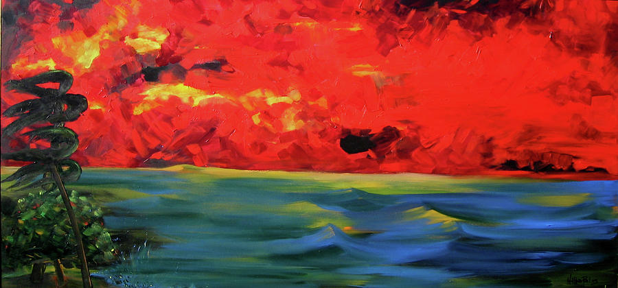 Ocean Painting - Convergence Zone by Nathan Paul Gibbs