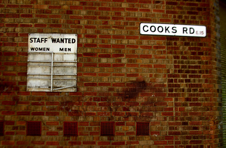 Photographer Photograph - Cooks Wanted by Jez C Self