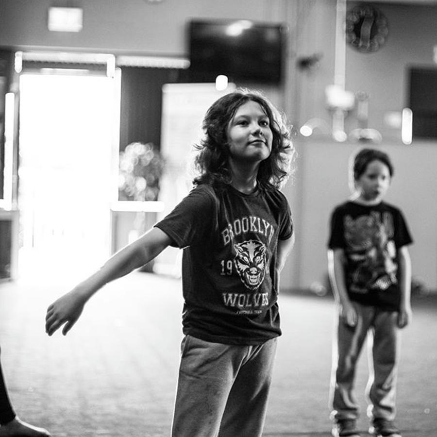 Dance Photograph - Cool Kids At Hiphop Dance Class At by Aleck Cartwright