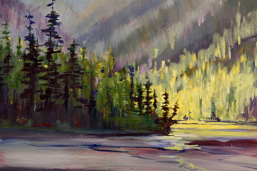 Cool Side of the Lake by Nancy Merkle