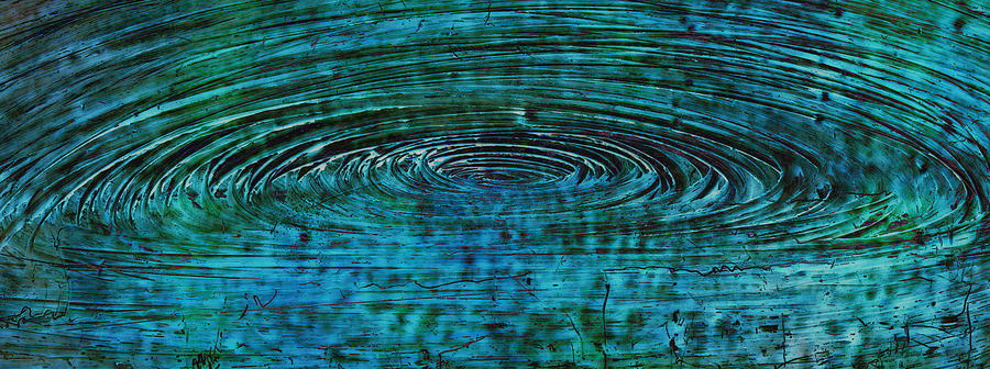 Vortex Mixed Media - Cool Spin by Sami Tiainen