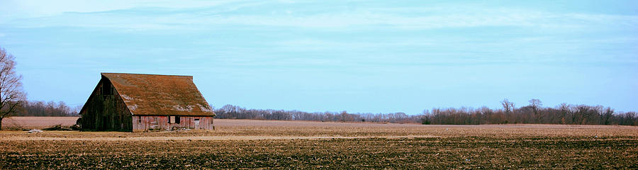 Farm Photograph - Cool Spring Sky by Jame Hayes