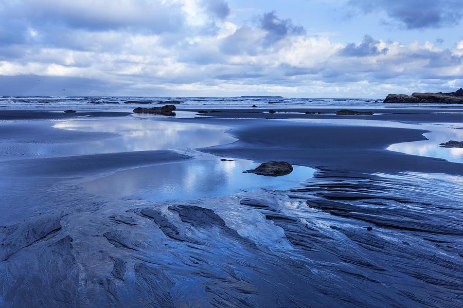 Blue Photograph - Cool Summer At Beach by Matt Cohen
