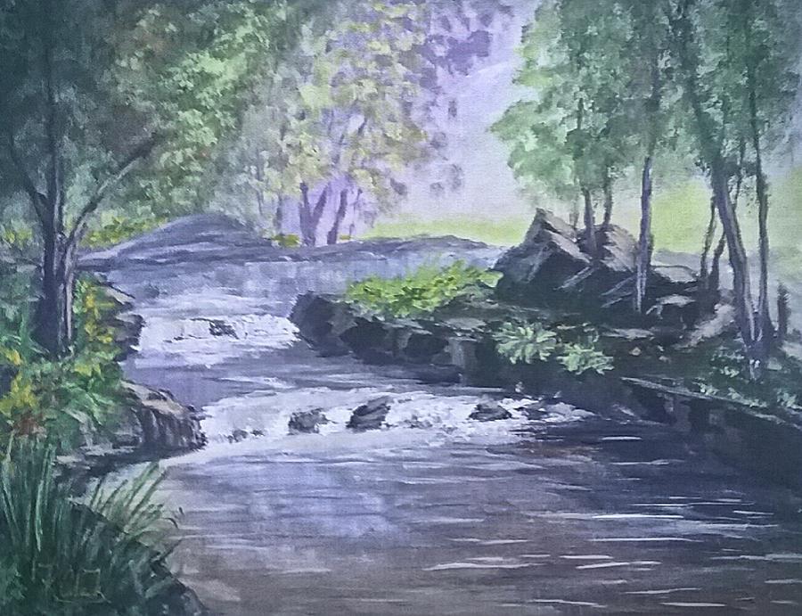 Cool Water Creek by Robert Clark