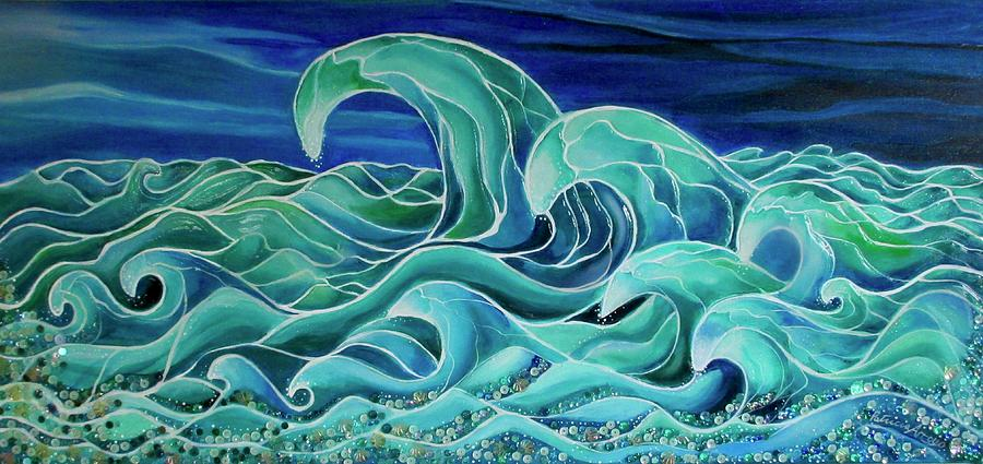 Cool Waves 3-  by Patricia Arroyo