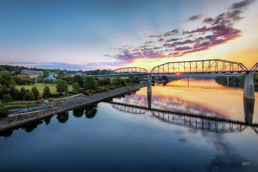 Coolidge Park Sunrise by Steven Llorca