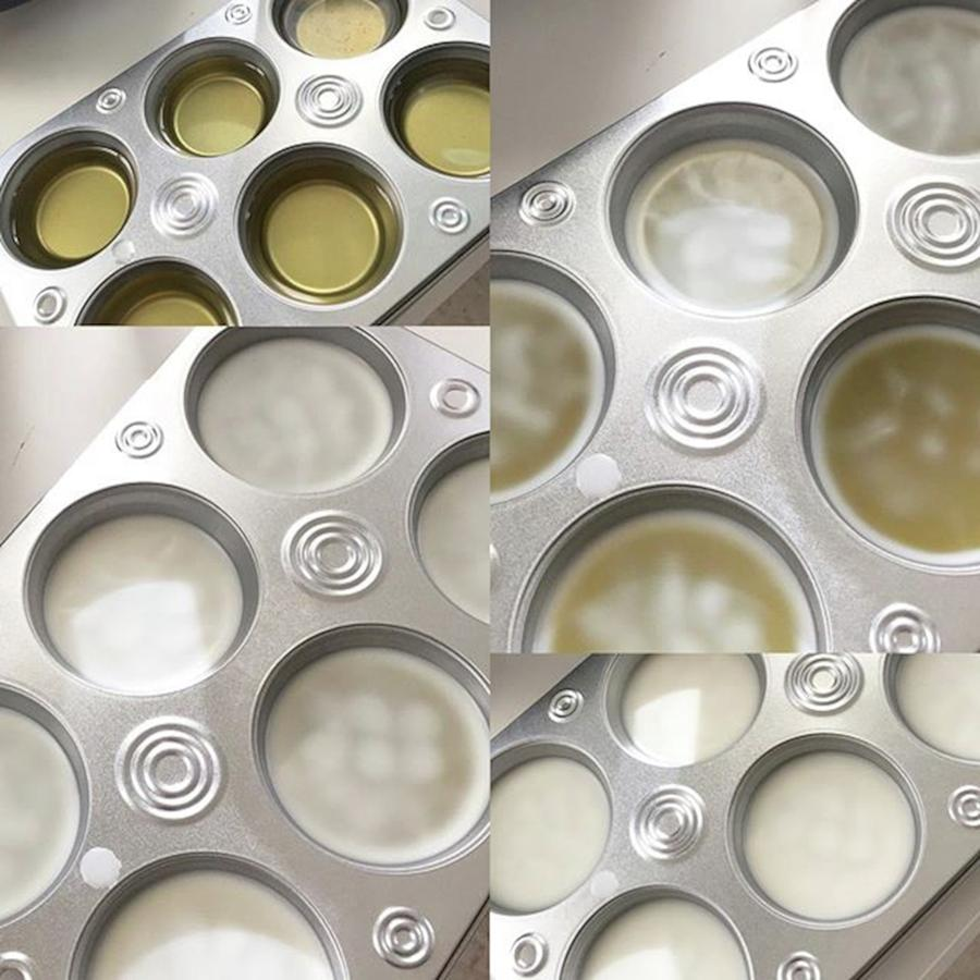 Beeswax Photograph - Cooling Down Stages Of My 1st Batch Of by Marianna Mills