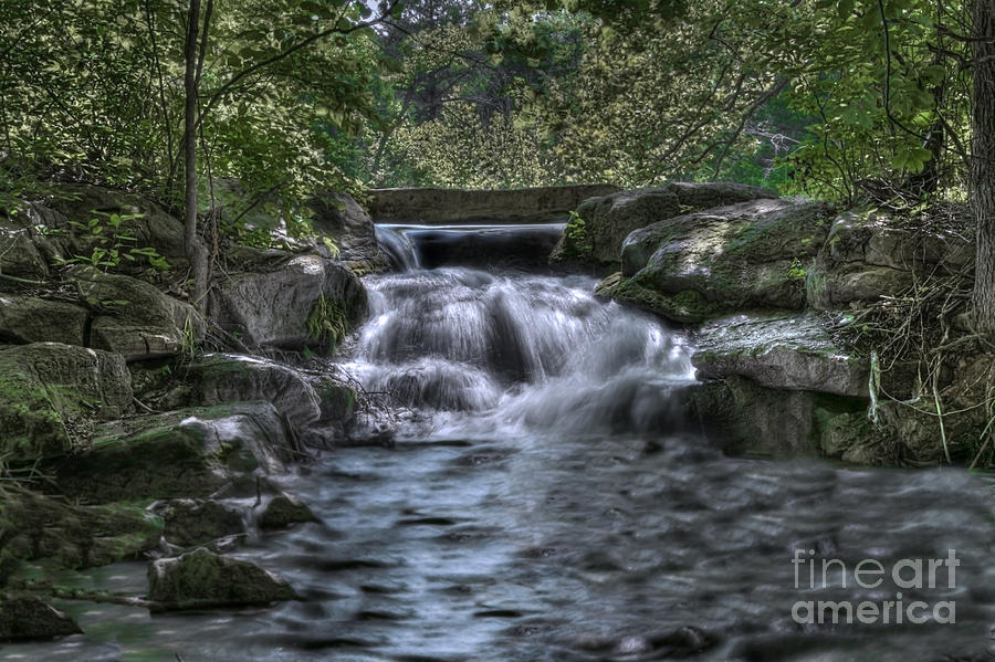 Water Photograph - Cooling Waters  by Tamyra Ayles