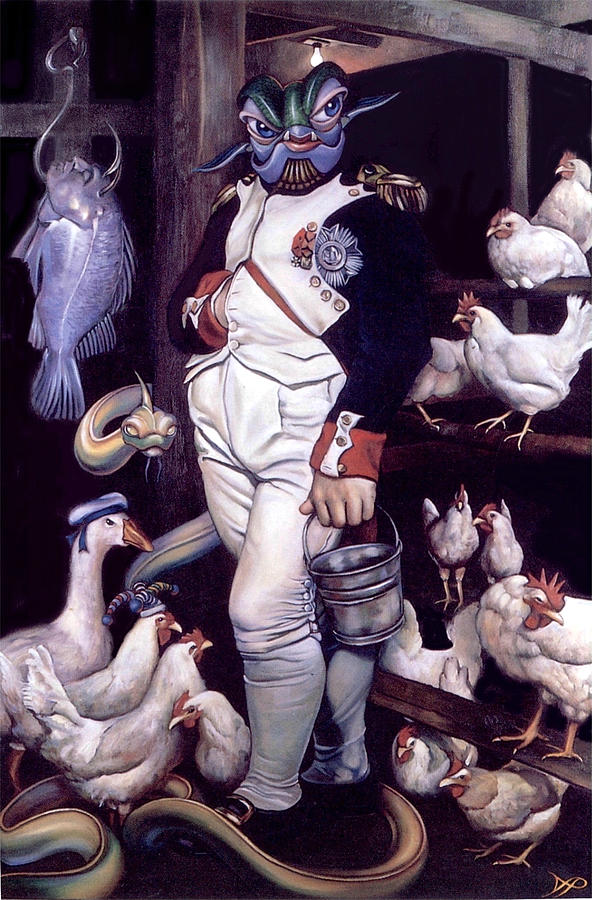 Napoleon Painting - Coop Detat by Patrick Anthony Pierson