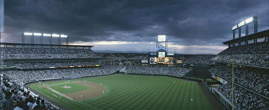 North America Photograph - Coors Field, Denver, Colorado by Michael S. Lewis