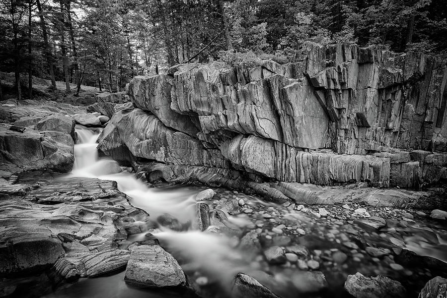 Coos Canyon Photograph - Coos Canyon Black And White by Rick Berk