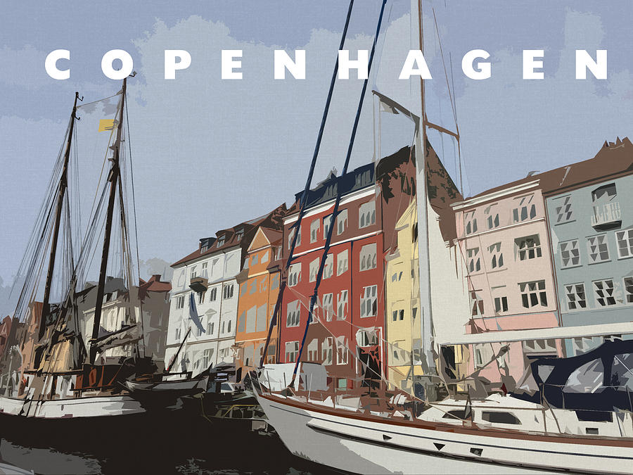 Copenhagen Memories Digital Art