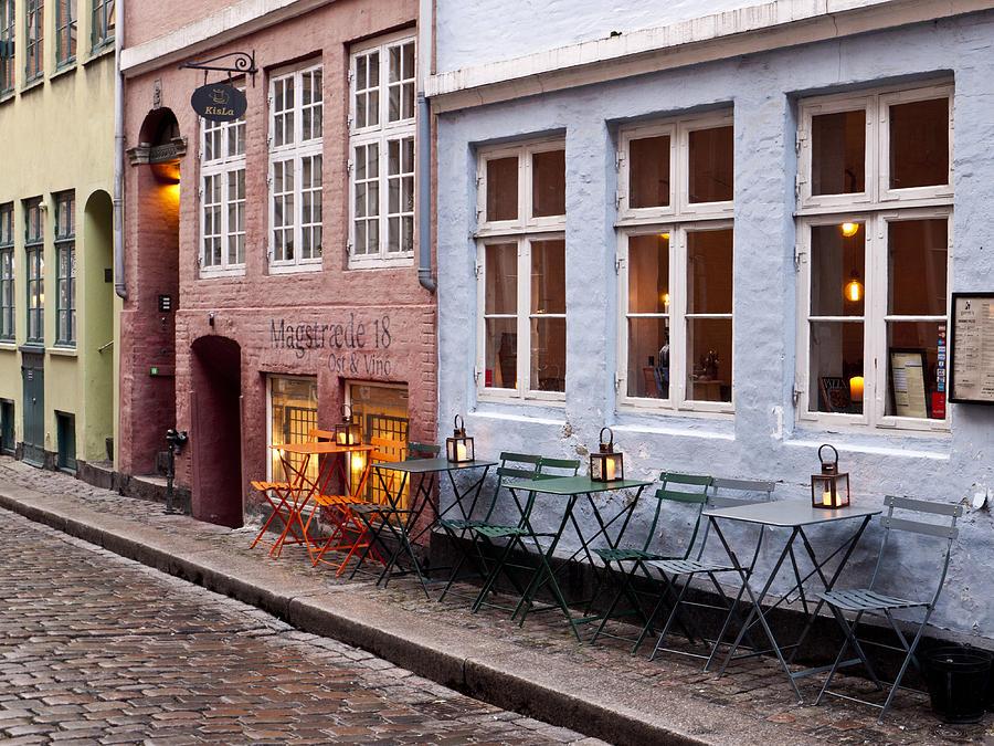 Restaurant Photograph - Copenhagen Patio by Rae Tucker