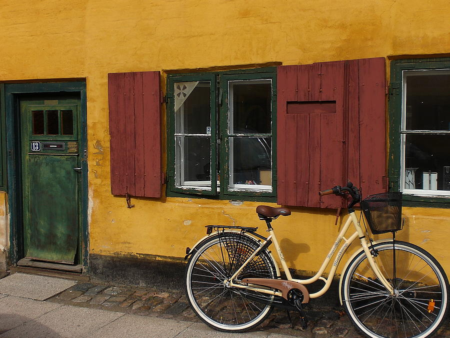 Bike Photograph - Copenhagen Still Life by Sabine Meisel