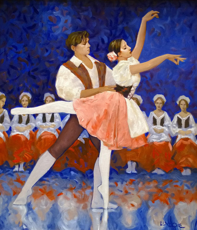 Coppelia Painting - Coppelia by Kevin Lawrence Leveque