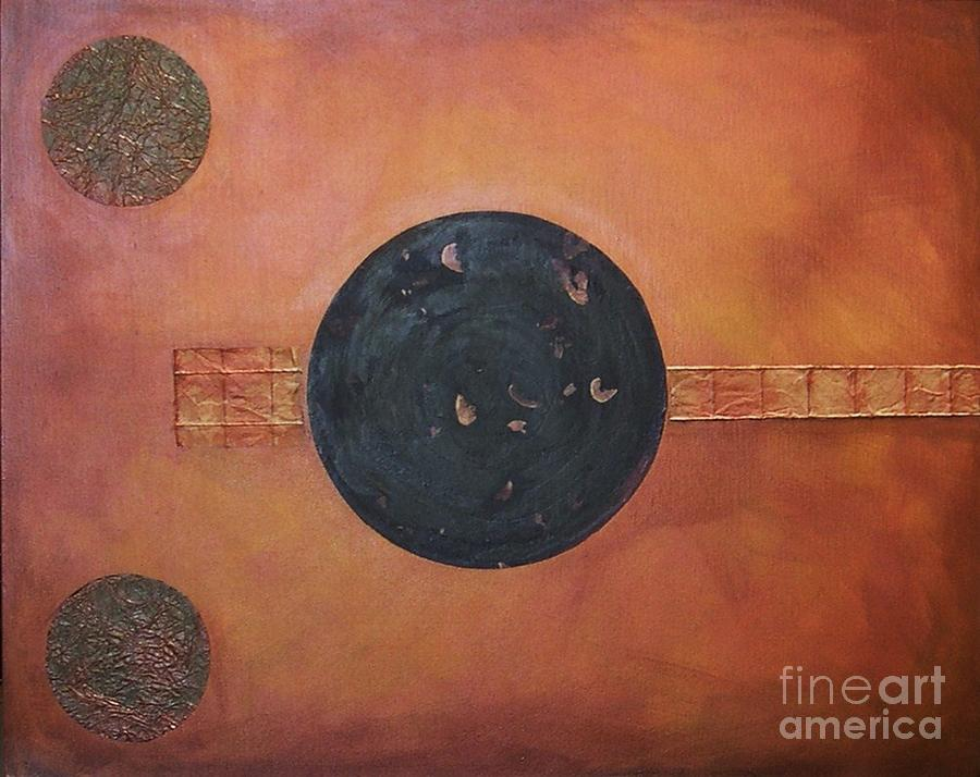 Sets Painting - Copper Clad by Marlene Burns